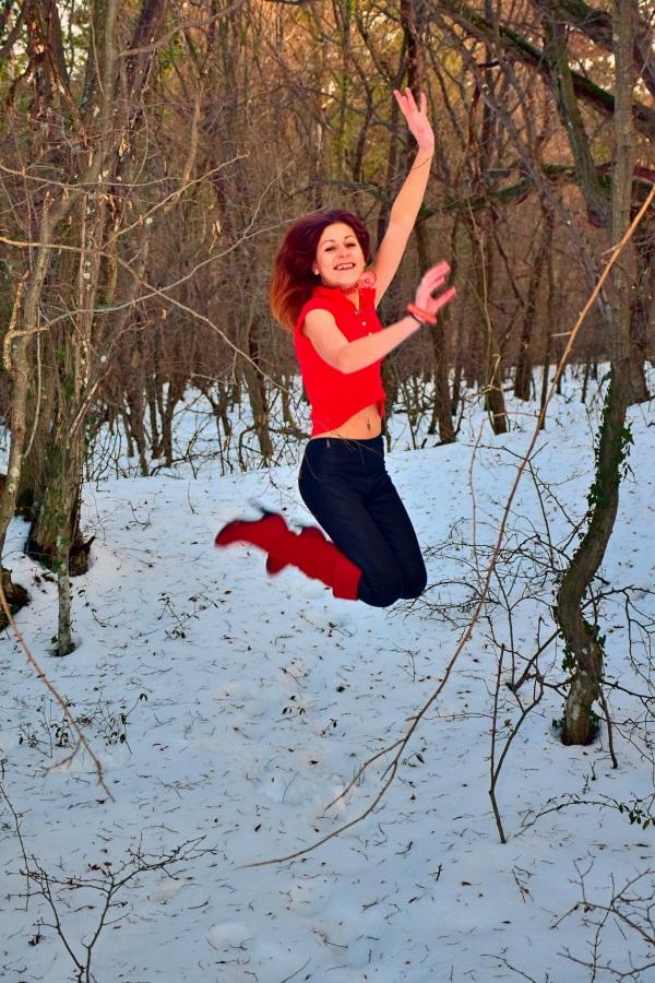 Nina und der Winterjump